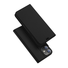Pouzdro DUX DUCIS pro Apple iPhone 12 Pro - stojánek + prostor pro platební kartu - černé