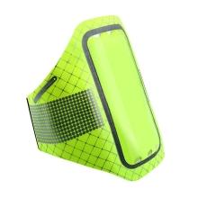 Sportovní pouzdro BASEUS pro Apple iPhone 6 / 6S / 7 / 8 - ultratenké - zelené + reflexní prvky