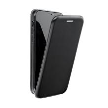 Pouzdro FORCELL Elegance pro Apple iPhone Xr - umělá kůže - černé