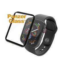 Tvrzené sklo (Tempered Glass) PANZERGLASS Premium pro Apple Watch 44mm Series 4 / 5 / 6 / SE - 3D okraj - celolepené