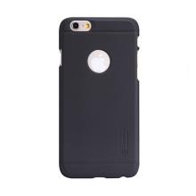 Kryt Nillkin pro Apple iPhone 6 / 6S plastový / jemná povrchová struktura - výřezem pro logo - černý + ochranná fólie