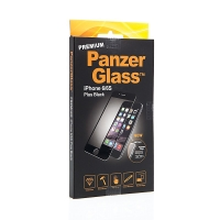 Tvrzené sklo / Tempered Glass PanzerGlass Premium pro Apple iPhone 6 Plus / 6S Plus - černý rámeček