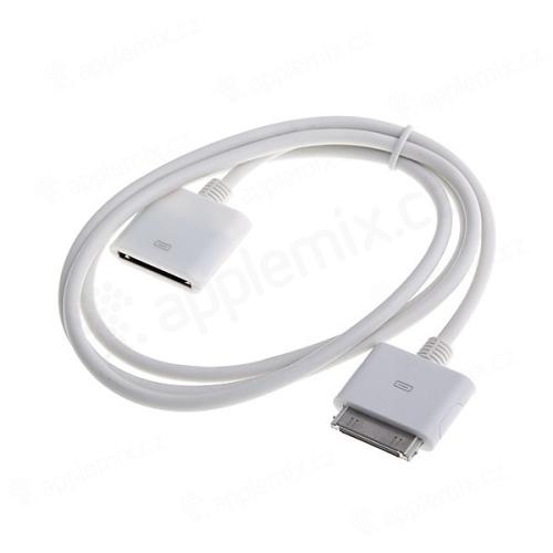 Prodlužovací kabel pro Apple iPhone / iPad / iPod - bílý