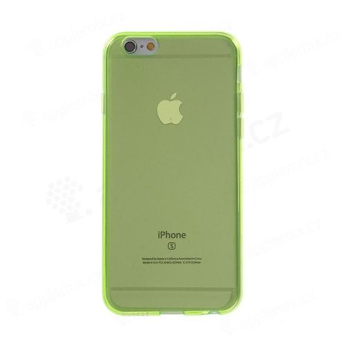Kryt pro Apple iPhone 6   6S - gumový - zelený  d62d24465eb