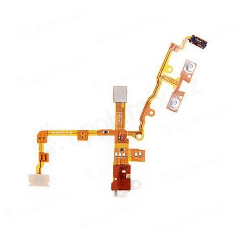 Headphone Audio Jack Ribbin Flex kabel pro iPhone 3G / 3GS - bílý - kvalita A+