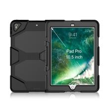 Kryt / obal pro Apple iPad Pro 10,5 - outdoor - odolný - plastový / silikonový - černý
