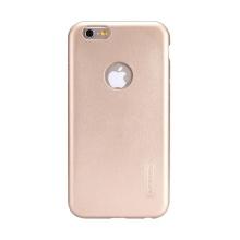Kryt Nillkin pro Apple iPhone 6 Plus / 6S Plus plastový - výřez pro logo - povrchová úprava - umělá kůže