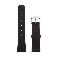 Řemínek pro Apple Watch 40mm Series 4 / 38mm 1 2 3 - kožený - černý