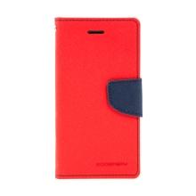 Pouzdro Mercury Fancy Diary pro Apple iPhone 7 / 8 / SE (2020) - stojánek a prostor na doklady - červené