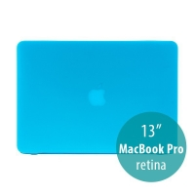 Obal / kryt pro Apple MacBook Pro 13 Retina (model A1425, A1502) - tenký - plastový - matný - modrý