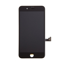 LCD panel + dotykové sklo (touch screen digitizér) pro Apple iPhone 8 Plus - černý - kvalita A