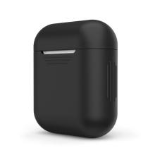 Pouzdro / obal pro Apple AirPods - tenké - silikonové - černé