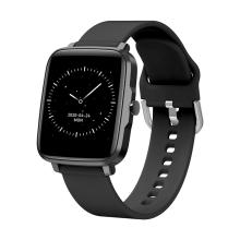 Fitness chytré hodinky LEMONDA F2 - tlakoměr / krokoměr / měřič tepu - Bluetooth - černé