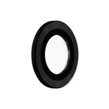 Tvrzené sklo (Tempered Glass) DEVIA pro Apple iPhone 13 / 13 mini - na čočku fotoaparátu - s kamínky - 2 ks - černé