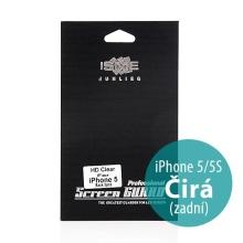 Ochranná zadní fólie pro Apple iPhone 5 / 5S / SE - čirá