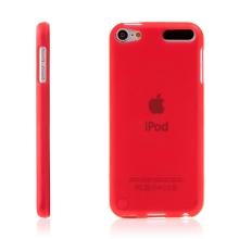 Kryt pro Apple iPod touch 5. / 6. / 7. gen. gumový červený