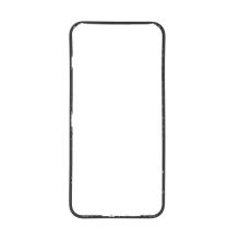 Rámeček předního panelu pro Apple iPhone Xr - plastový - černý - kvalita A+