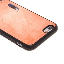 Kryt pro Apple iPhone 6 / 6S - kovový povrch - gumový