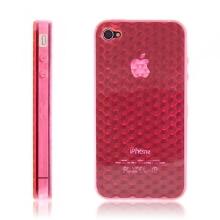 Ochranný kryt / pouzdro pro Apple iPhone 4 diamantový - růžový
