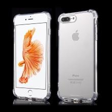 Kryt pro Apple iPhone 7 Plus / 8 Plus - plastový / gumový - průhledný