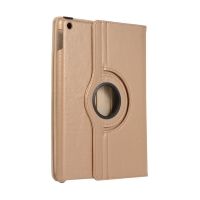 "Pouzdro pro Apple iPad 10,2"" (2019-2020) - 360° otočný stojánek - zlaté"