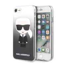 Kryt KARL LAGERFELD pro Apple iPhone 6 / 6S / 7 / 8 / SE (2020) - gumový - Karl