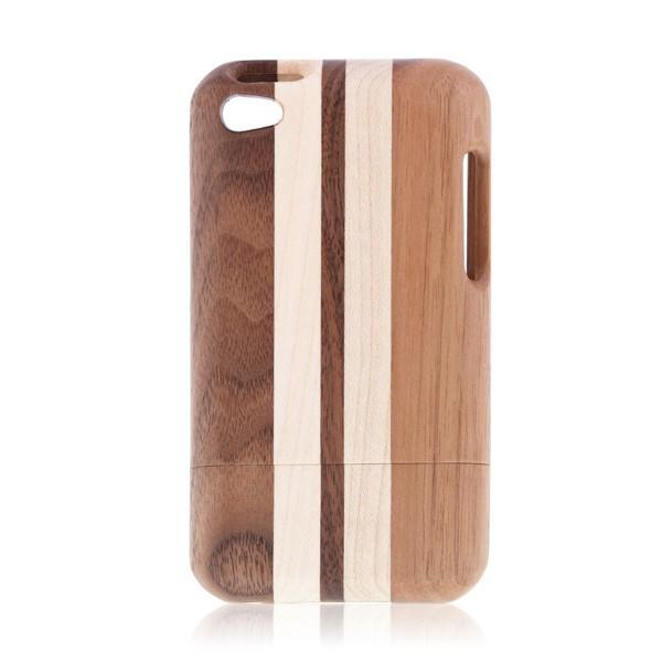 Dřevěný ochranný kryt pro Apple iPod Touch 4