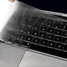 """Kryt klávesnice ENKAY pro Apple MacBook Air / Air M1 (2018-2021) 13"""" (A1932, A2179, A2337) -  EU verze - gumový - průhledný"""