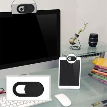 Krytka čočky přední kamery pro Apple iPhone / iPad / MacBook / iMac - ultratenká - černá