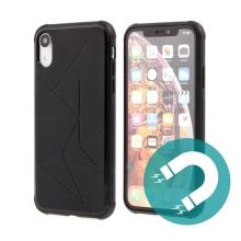 Kryt TACTICAL pro Apple iPhone Xr - magnetický - černý