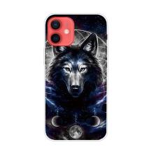 Kryt pro iPhone 12 / 12 Pro - gumový - mýtický vlk