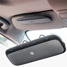 Handsfree Bluetooth sada do auta - na sluneční clonu + autonabíječka - šedé
