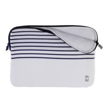 Pouzdro se zipem MW pro Apple MacBook Air / Pro 13 - námořnické pruhy - modré / bílé