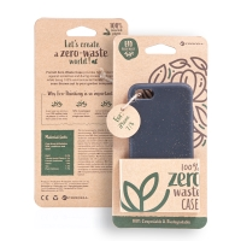 Kryt FORCELL BIO - pro Apple iPhone 7 / 8 / SE (2020) - Zero Waste kompostovatelný kryt - černý
