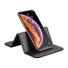 Stojánek / podložka BASEUS pro Apple iPhone - skládací - protiskluzový - černý