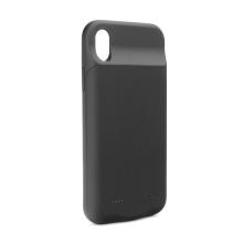 Externí baterie / kryt pro Apple iPhone Xr- 4000 mAh - matná - černá