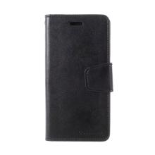 Pouzdro MERCURY Sonata Diary pro Apple iPhone X / Xs - stojánek a prostor na doklady - černé