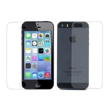 Fólie pro Apple iPhone 5 / 5S / SE - ochranná - přední a zadní - čirá