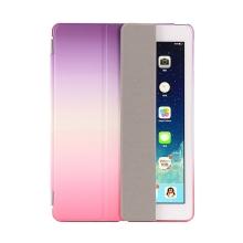 Pouzdro / kryt pro Apple iPad 9,7 (2017-2018) - odnímatelný Smart Cover - stojánek - plastové - růžové / fialové