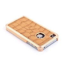 Ochranný kryt pro Apple iPhone 4 / 4S - zlatý