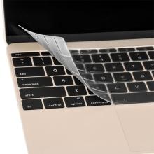 Kryt klávesnice ENKAY pro Apple MacBook Retina 12 / Pro 13,3 (rok 2016) bez Touchbaru - US verze - silikonový - průhledný
