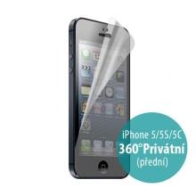 Ochranná fólie pro Apple iPhone 5 / 5C / 5S / SE - 360° privacy - anti-reflexní