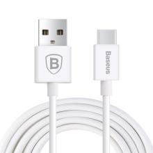 Synchronizační a nabíjecí kabel USB-C Baseus Flash Series - bílý - 1m