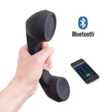 Bezdrátové retro bluetooth sluchátko pro Apple iPhone - černé