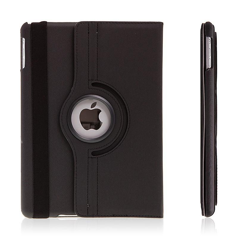 Pouzdro / kryt pro Apple iPad Air 1.gen. otočný - funkce uspání probuzení - černé