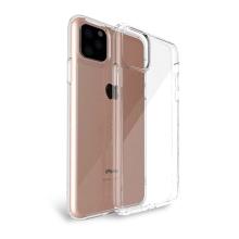 Kryt pro Apple iPhone 11 Pro - skleněný / gumový - průhledný