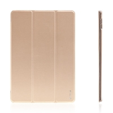 Pouzdro DEVIA pro Apple iPad Pro 9.7 - stojánek a funkce chytrého uspání - zlaté