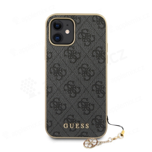 Kryt GUESS 4G  pro Apple iPhone 12 mini - plastový / gumový