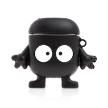 Pouzdro / obal pro Apple AirPods - silikonové - černá příšera