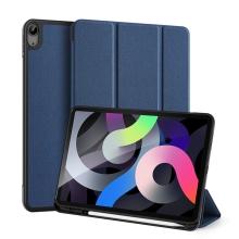 Pouzdro DUX DUCIS Domo pro Apple iPad Air 4 (2020) - stojánek - tmavě modré
